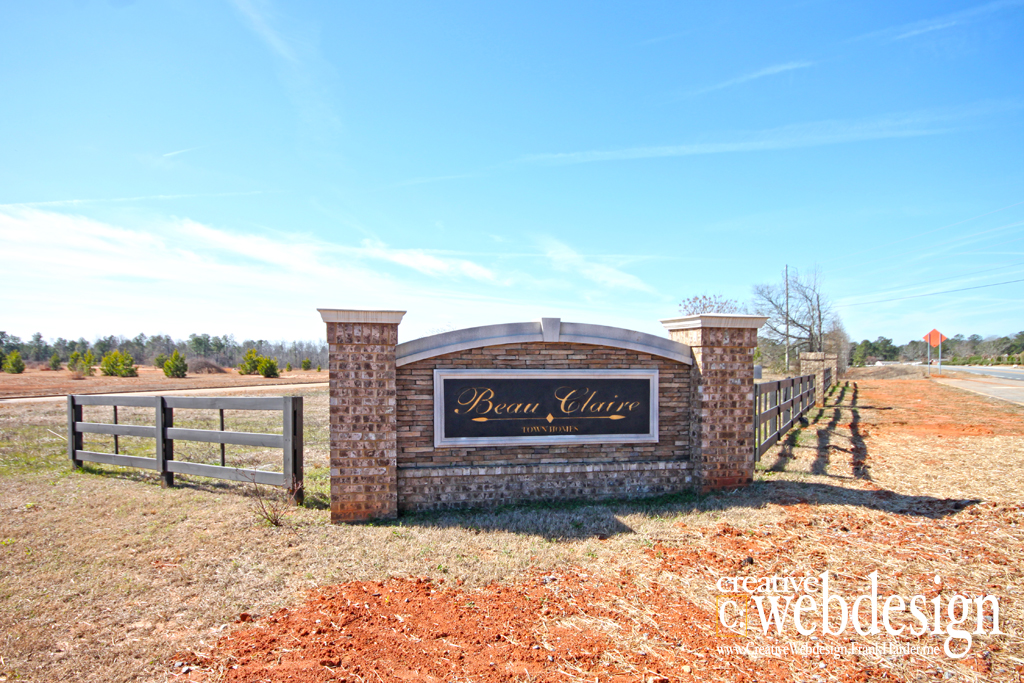 Beau Claire Subdivision in Byron, GA
