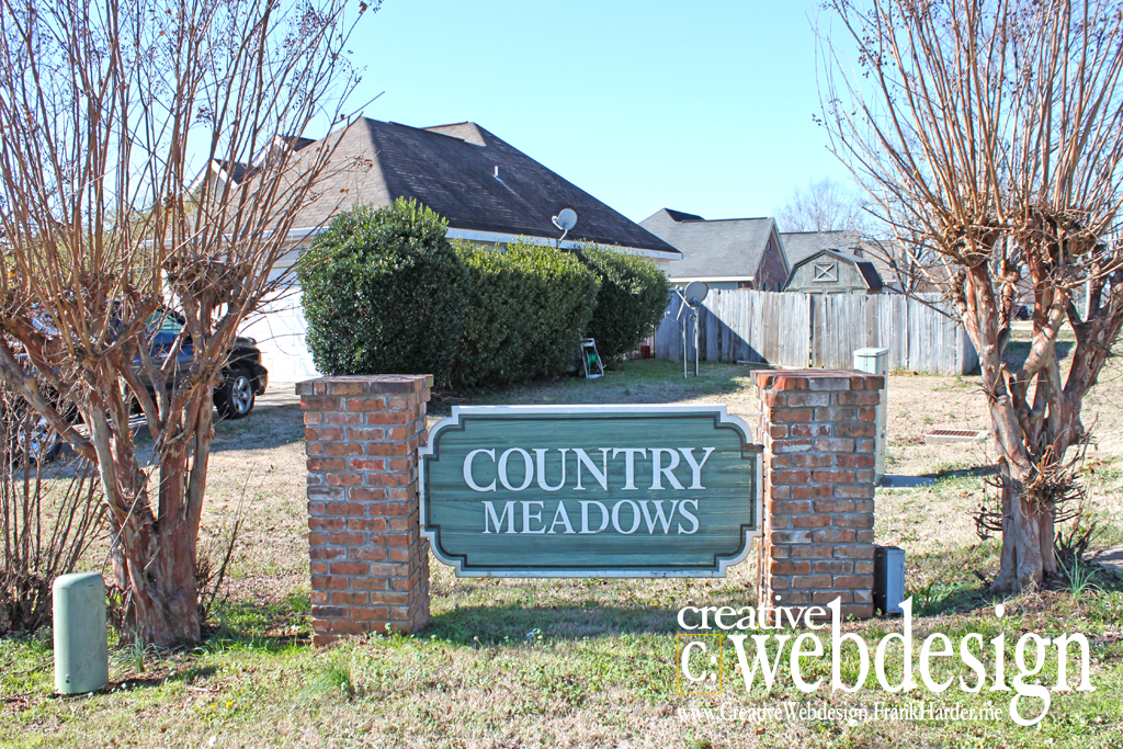 Country Meadows Subdivision in Bonaire, GA