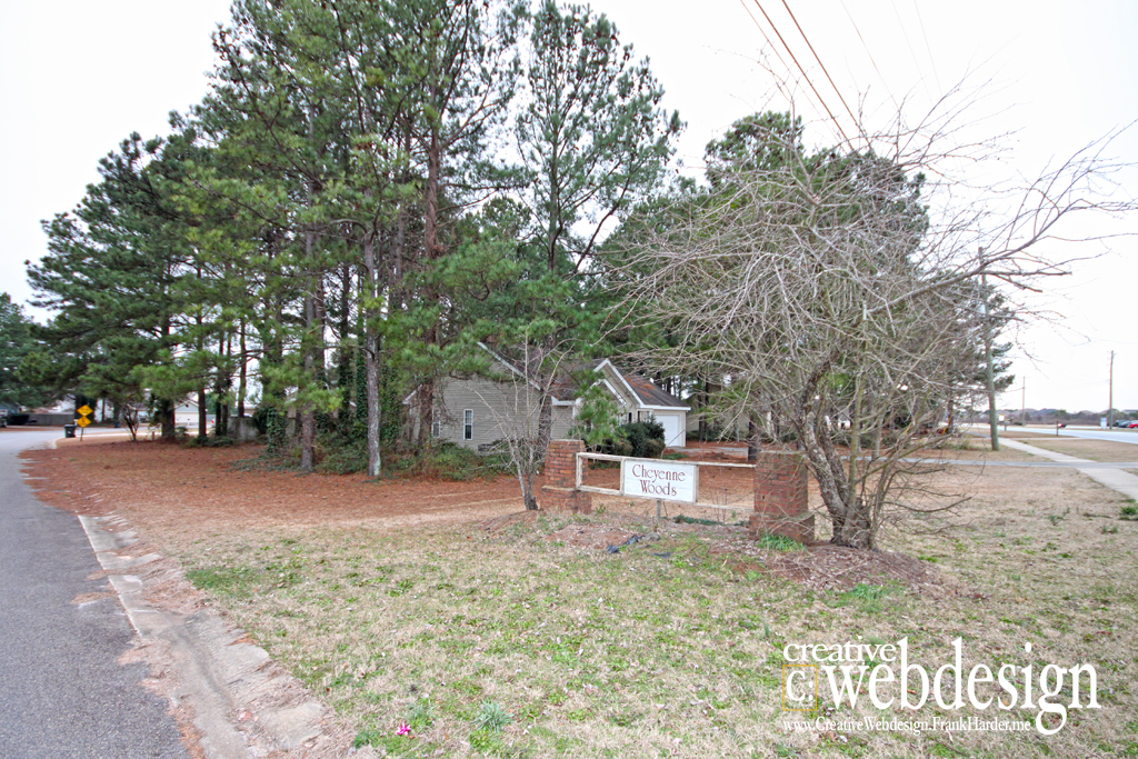 Cheyenne Woods Subdivision in Warner Robins, GA