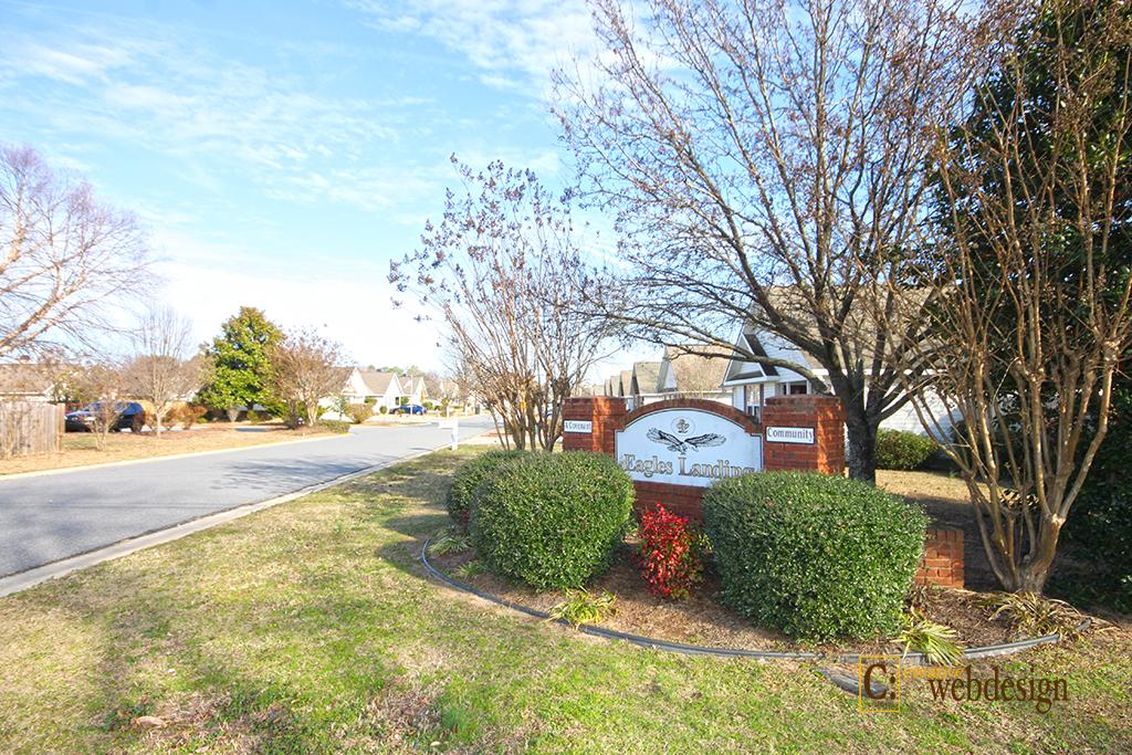 Eagles Landing Subdivision in Centerville, GA