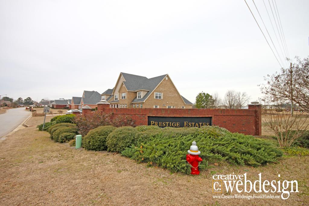 Prestige Estates Subdivision in Warner Robins, GA