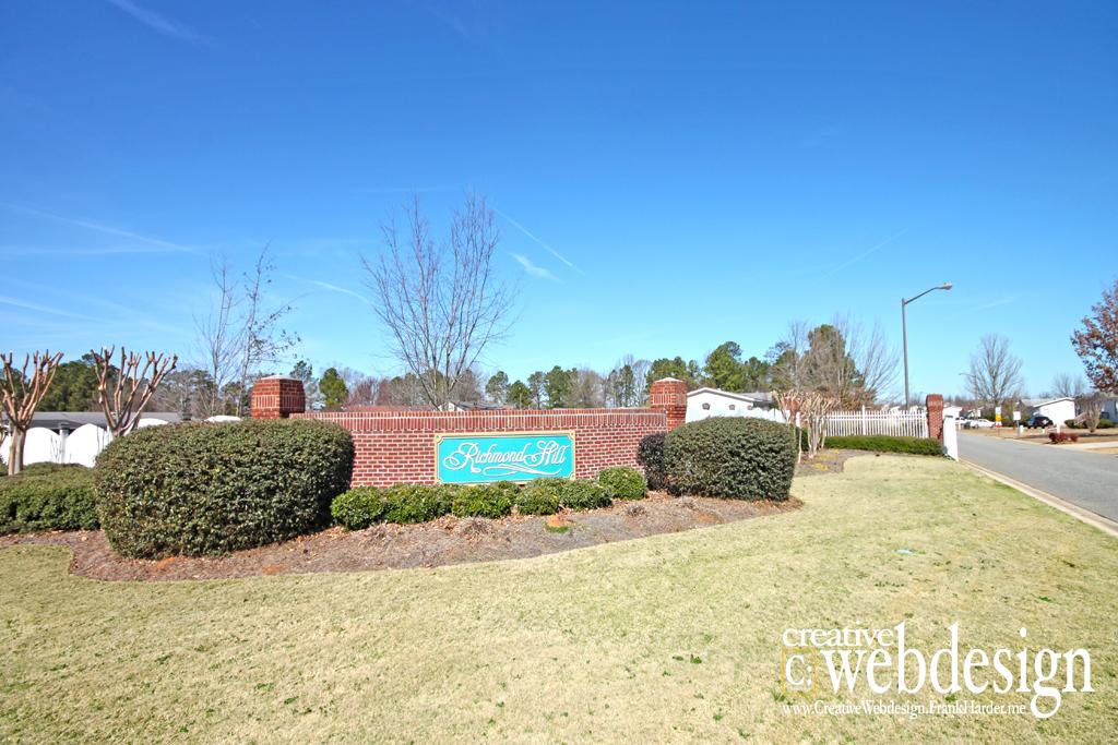 Richmond Hill Subdivision in Byron, GA
